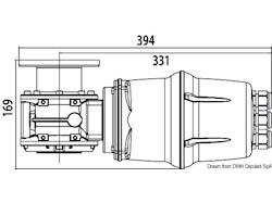 Kit verricello LEWMAR VX2 basso/alto (1000 W)