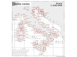 Cartografia costiera 1:100.000 NAVIMAP navigazione costiera