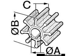 Girante per motore fuoribordo MERCURY/MARINER